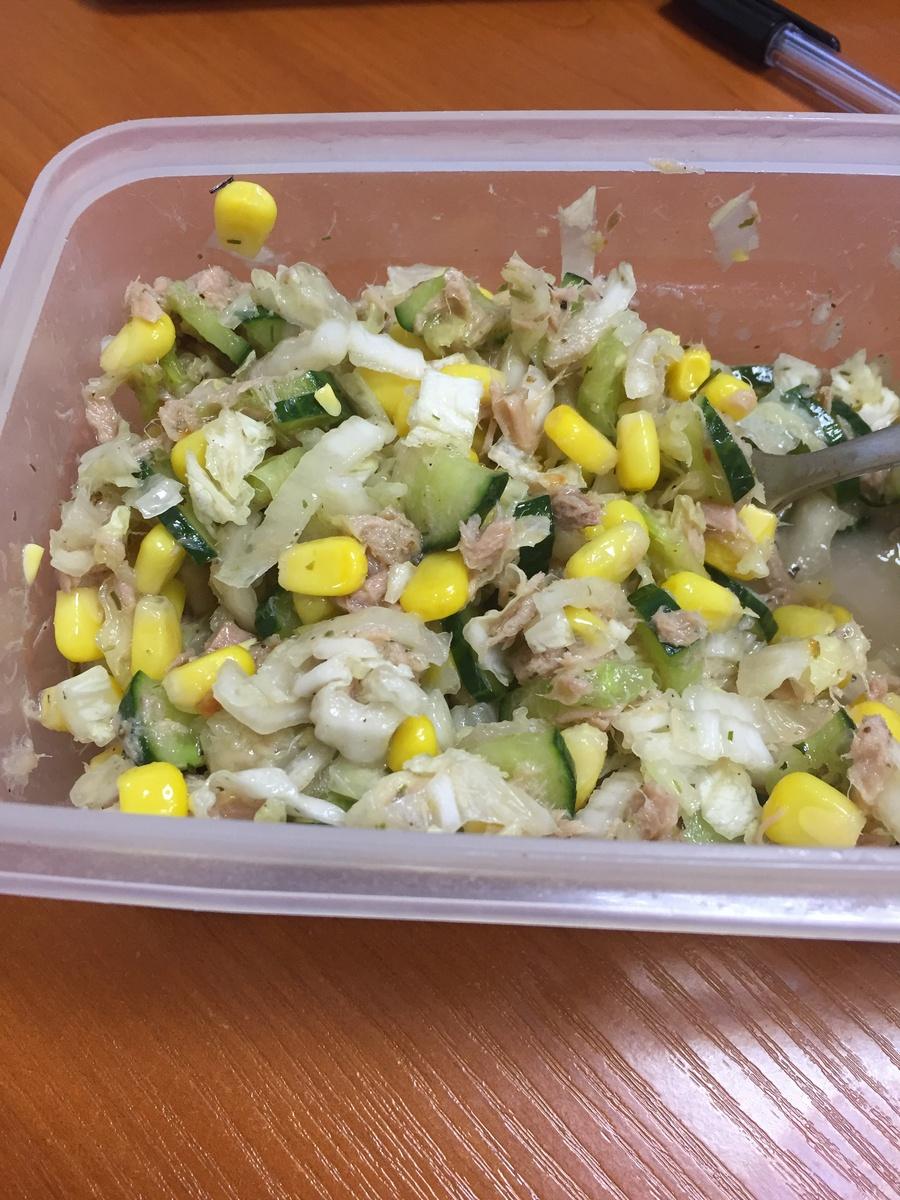 Острый салат пекинская капуста